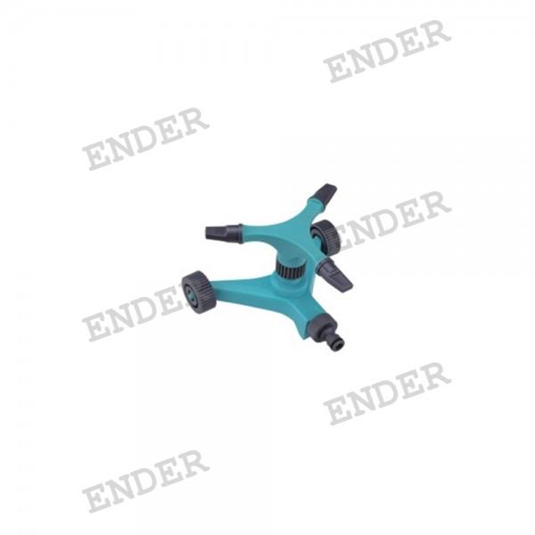Дождеватель Ender круговой на подставке с колесами  (052103)