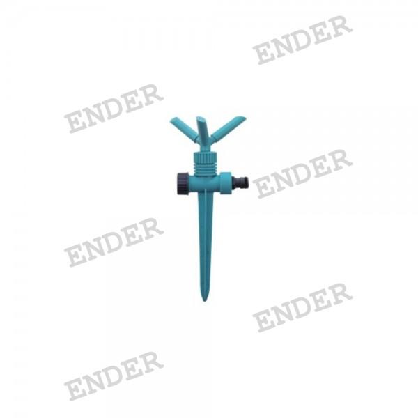 Тройной спринклер ENDER, пластик, орошение 60 м2