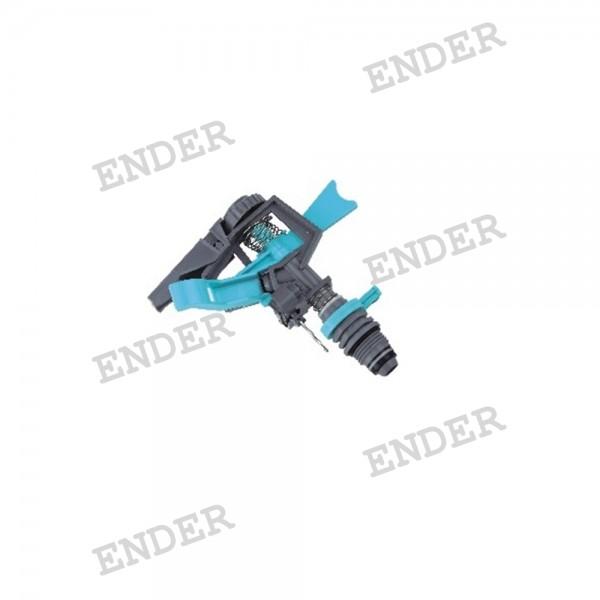Импульсный спринклер ENDER, пластик, радиус орошения 12 м