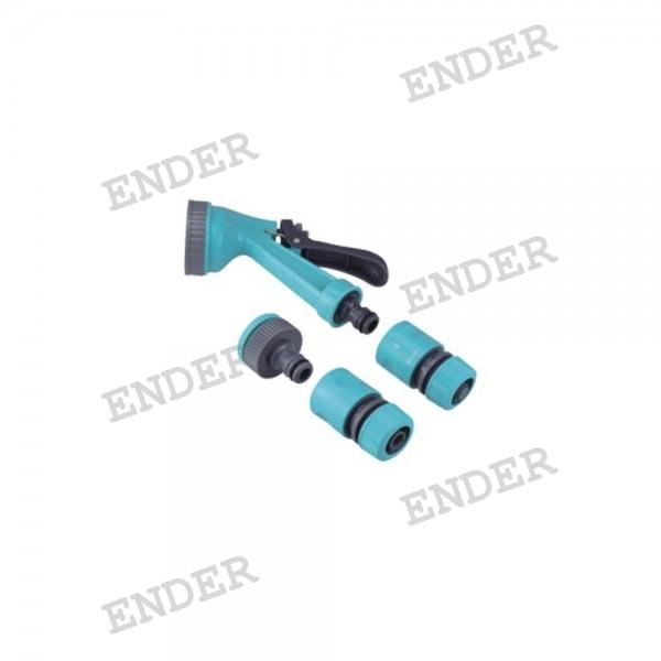 """Распылительный набор для шланга 1/2"""" ENDER, пистолет 5 положений"""