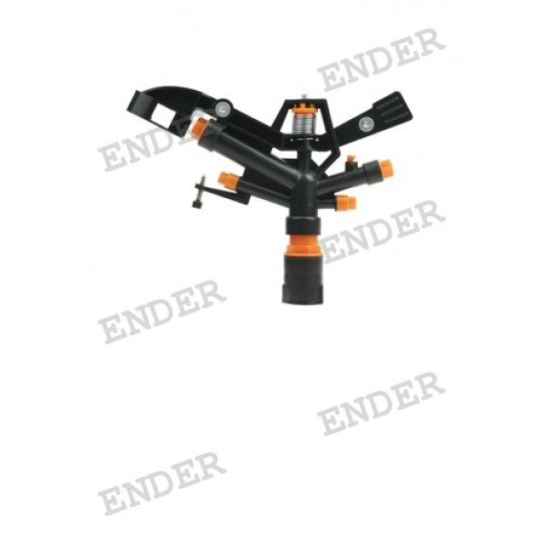 """Пятисторонний импульсный спринклер 1"""" «ENDER»"""