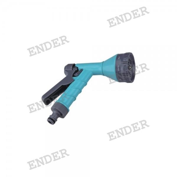 Пистолет для полива Ender 8 режимов полива пластиковый (1946013)