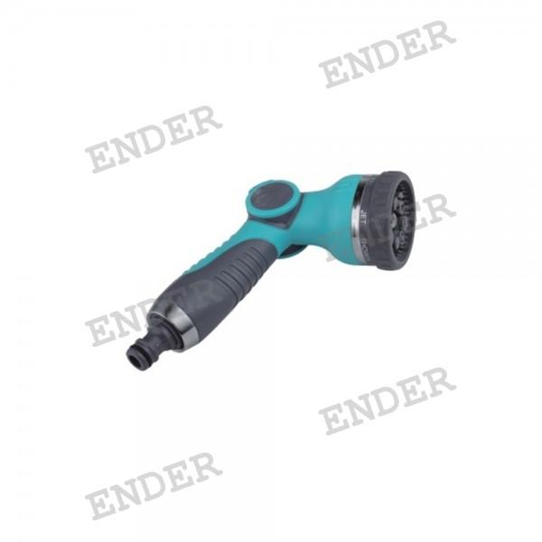 Пистолет для полива Ender 8 режимов полива плавный пуск  (266032)
