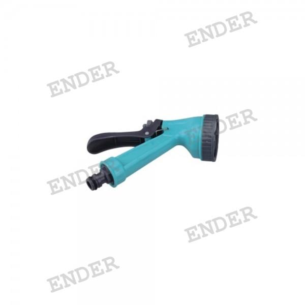 Пистолет для полива Ender 5 режимов полива пластиковый (316014)