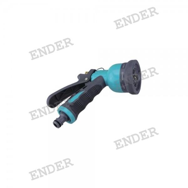 Распылительный пистолет «ENDER», пластик, 8 положений