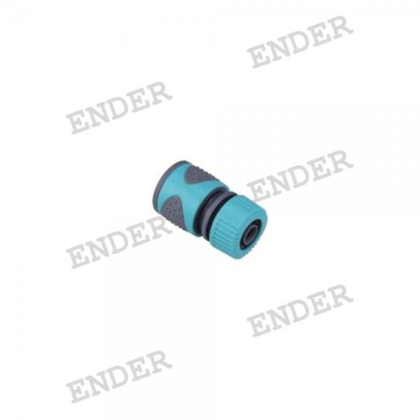 """Коннектор 1/2"""" серия """"Soft"""" «ENDER» с прорезиненной поверхностью"""