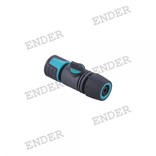"""Коннектор с краном Ender 1/2"""" серия """"Soft""""  (49E6719)"""