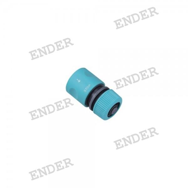 """Коннектор Ender 1/2""""  Standart  с клапаном (506007)"""