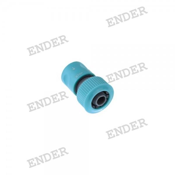 """Коннектор Ender 3/4"""" c клапаном Standart (536402)"""