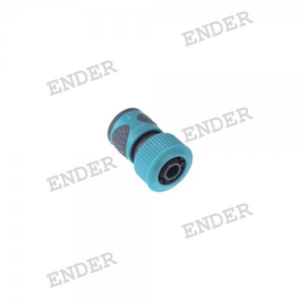 """Коннектор с клапаном 3/4"""" серия """"Soft"""" «ENDER»"""