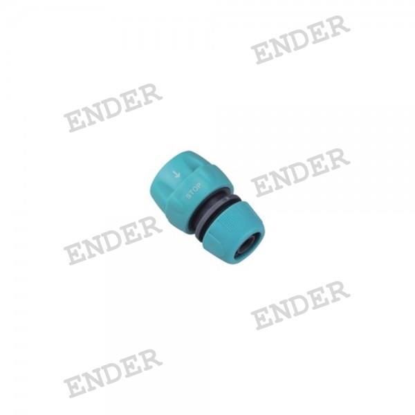 """Коннектор 1/2"""" с клапаном Ender (926007A)"""