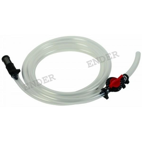 """Трубка для инжектора 1/2"""" или 3/4"""" с регулировкой потока «ENDER» (капельный полив)"""