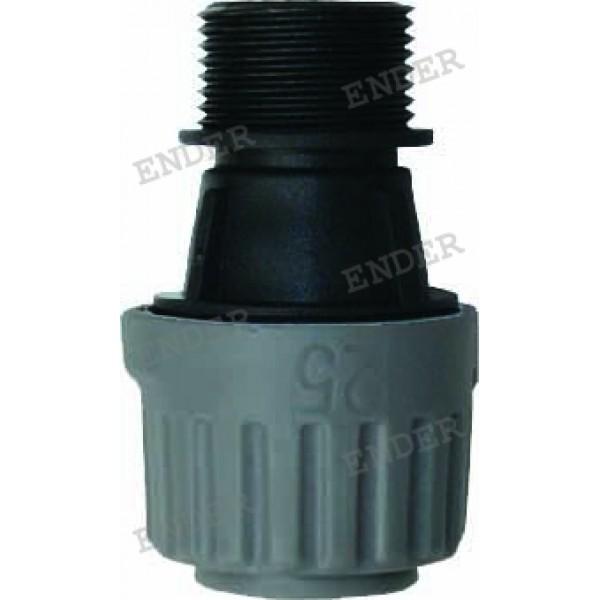 """25 мм * 1"""" коннектор с наружной резьбой"""